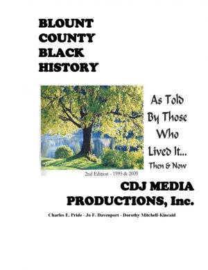 Sun, May 26, 4 pm -Blount County Black History, Then and Now